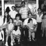 Family(exceptDeb)atGrannys